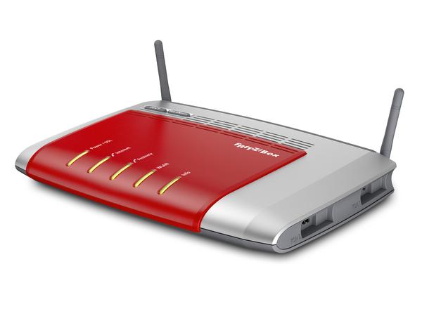 AVM FRITZ!Box 7272 - Wireless Router - DSL-Modem - 4-Port-Switch - 802.11b/g/n - 2,4 GHz