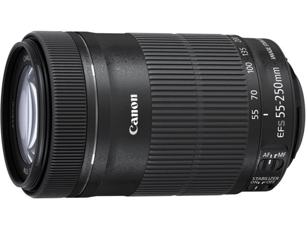 Canon EF-S - Telezoomobjektiv - 55 mm - 250 mm - f/4.0-5.6 IS STM - Canon EF-S