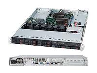 Supermicro SNK-P0046P - Prozessorkühler - (LGA1156 Socket) - 1U - für SuperServer 1016, 5016, 5017, 5026