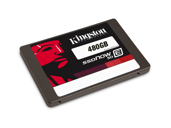Kingston SSDNow E50 - Solid-State-Disk - 480 GB - intern - 6.4 cm (2.5
