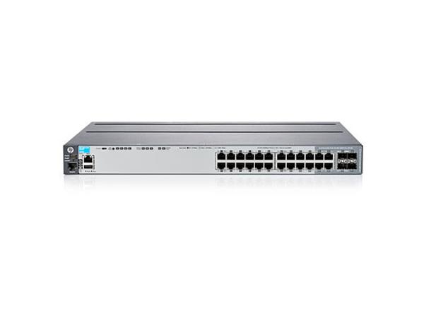 Aruba 2920-24G - Switch - verwaltet - 20 x 10/100/1000 + 4 x Kombi-Gigabit-SFP - an Rack montierbar