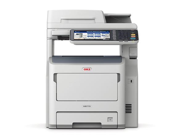 OKI MB 770dn - Multifunktionsdrucker - s/w - LED - A4 (210 x 297 mm) (Original) - A4 (Medien)