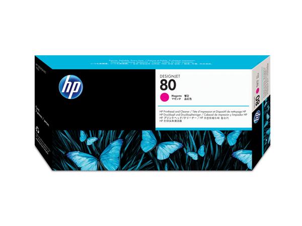 HP - Magenta - Druckkopf mit Reiniger - für DesignJet 1050c, 1050c plus, 1055cm, 1055cm plus