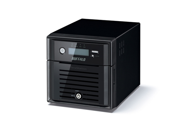 BUFFALO TeraStation 4200D - NAS-Server - 2 Schächte - SATA 3Gb/s - HDD - RAID 0, 1, JBOD