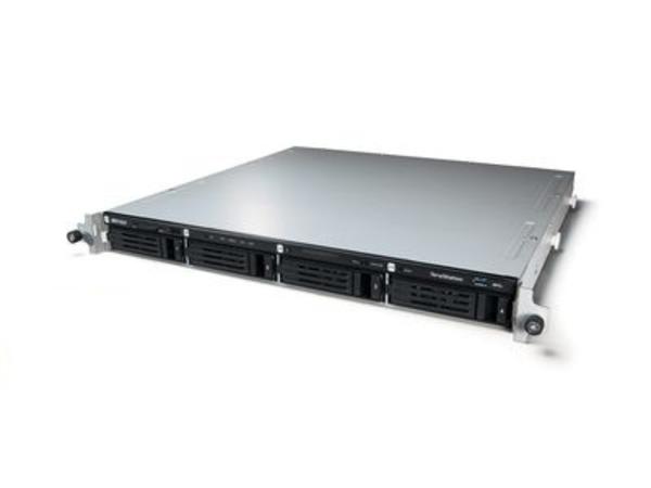 BUFFALO TeraStation 4400R - NAS-Server - 4 Schächte - Rack - einbaufähig - SATA 3Gb/s