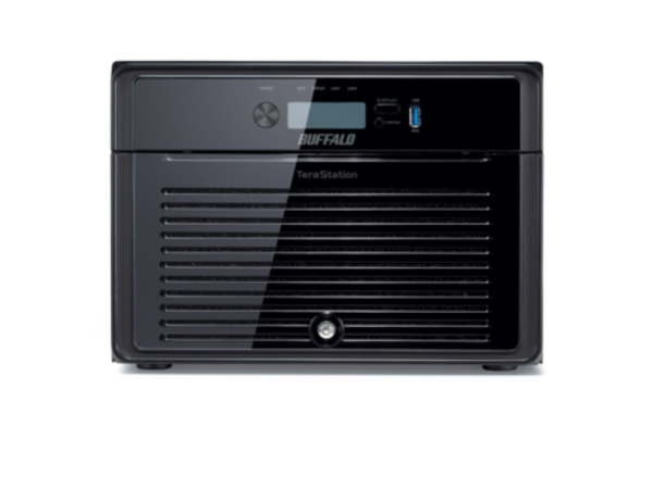 BUFFALO TeraStation 4800 - NAS-Server - 8 Schächte - SATA 3Gb/s - HDD - RAID 0, 1, 5, 6, 10, 50, JBOD, 60, 51, 61