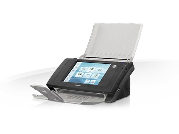 Canon ScanFront ScanFront 330, 216 x 355,6 mm, 600 x 600 DPI, 24 Bit, Scanner mit Vorlageneinzug, Schwarz, Weiß, LCD