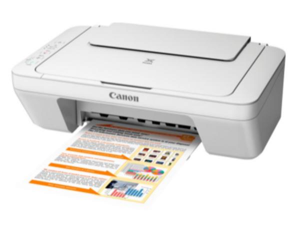 Canon PIXMA MG2555 - Multifunktionsdrucker - Farbe - Tintenstrahl - 216 x 297 mm (Original) - A4/Legal (Medien) - bis zu 8 ipm (Drucken) - 60 Blatt - USB 2.0