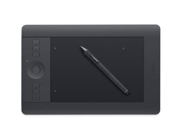 Wacom Intuos Pro Small - Digitalisierer - 15.7 x 9.8 cm - elektromagnetisch - 8 Tasten - drahtlos, verkabelt