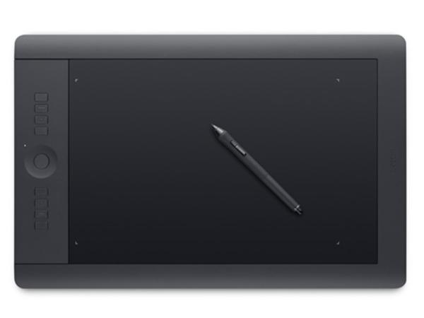 Wacom Intuos Pro Large - Digitalisierer - 32.5 x 20.3 cm - elektromagnetisch - 8 Tasten - drahtlos, verkabelt