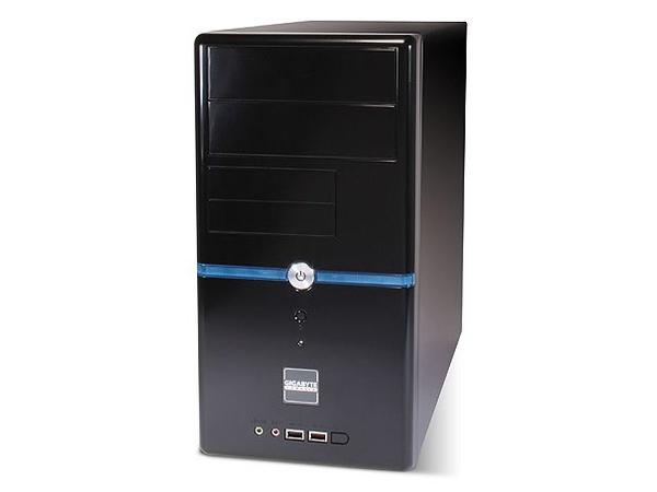 Gigabyte GZ-M2 - Mini Tower - Mikro-ATX - ohne Netzteil - Schwarz - USB/Audio