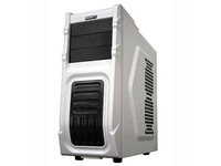 Gigabyte Luxo M10 - Tower - ATX - ohne Netzteil - weiß - USB/Audio