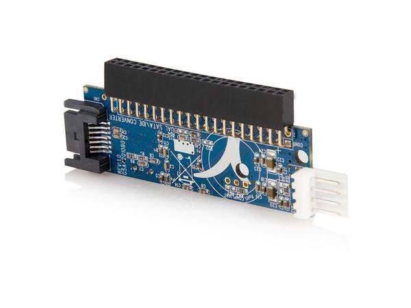 StarTech.com IDE auf SATA Adapter - IDE zu S-ATA Konverter für 2,5 und 3,5 Zoll 40 Pin Buchse - Speicher-Controller - 1 Sender/Kanal - ATA - 133 MBps
