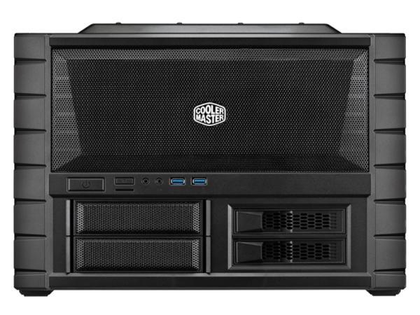 Cooler Master HAF XB EVO - Midi Tower - ATX - ohne Netzteil (ATX / PS/2) - USB/Audio