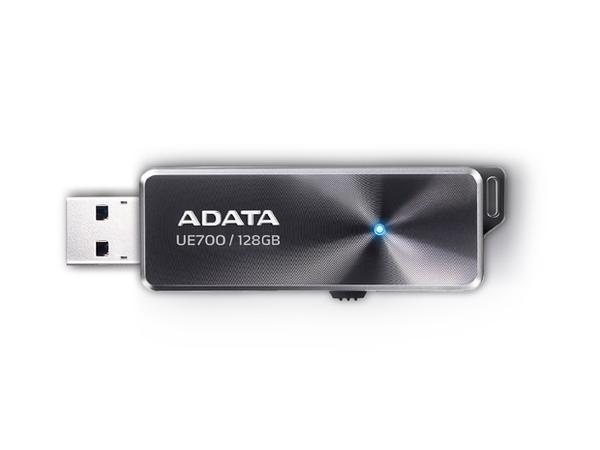 ADATA DashDrive Elite UE700 - USB-Flash-Laufwerk - 128 GB - USB 3.0 - Schwarz