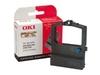 OKI - 1 - Schwarz - Farbband - für Microline 590, 590 Elite, 591, 591 Elite