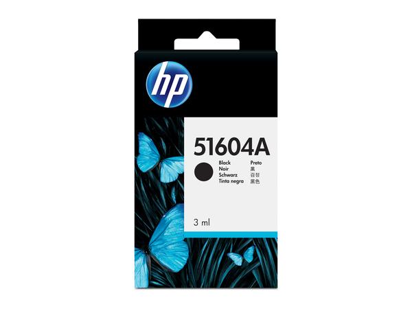 HP 51604A - 3 ml - Schwarz - Original - Tintenpatrone - für QuietJet Plus