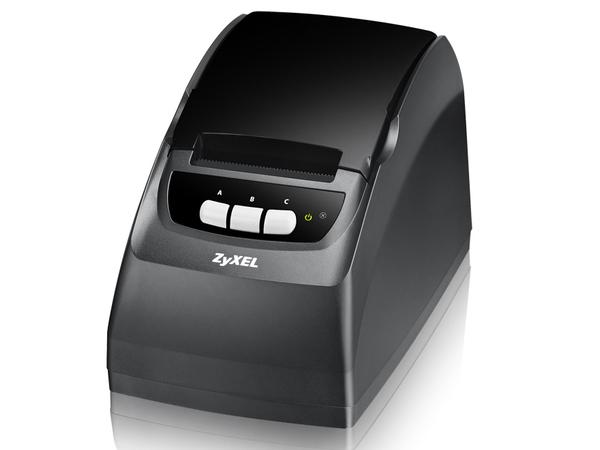 ZyXEL SP350E - Etikettendrucker - Thermopapier - Rolle (5,7 cm) - LAN
