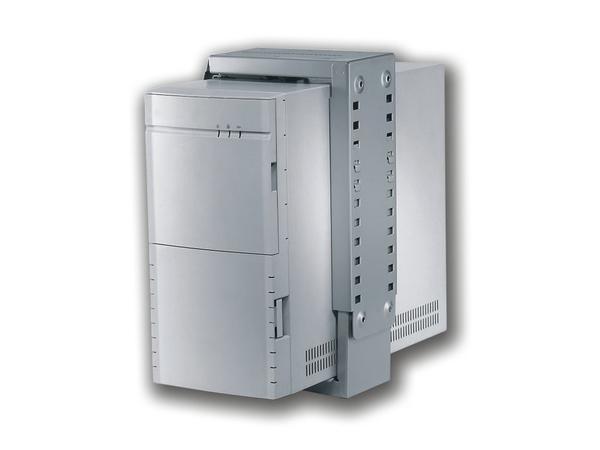 NewStar Under Desk & On-Wall PC Mount CPU-D100WHITE - Montageset - under-desk mountable - Silber