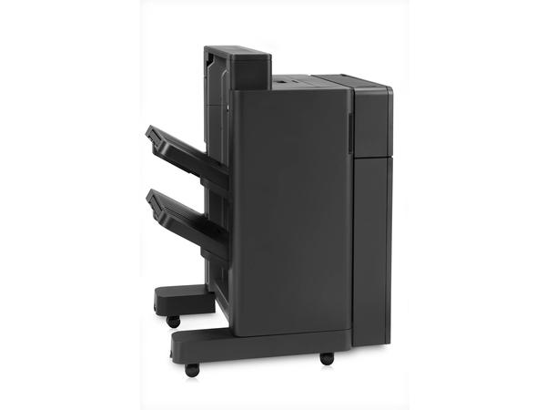 HP Stapler/Stacker with 2/4 hole punch - Finisher mit Stapel-/Heftvorrichtung - 2/4-hole - 500 Blätter in 1 Schubladen (Trays) - für LaserJet Enterprise Flow MFP M880; LaserJet Managed Flow MF