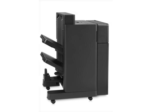HP Booklet Maker/Finisher with 2/4 hole punch - Finisher with booklet making/stapler/booklet folder/saddle stitching - 2/4-hole - für LaserJet Enterprise Flow MFP M880; LaserJet Managed Flow M