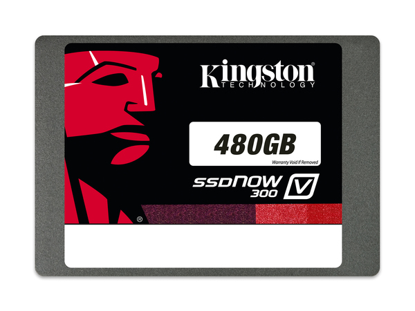 Kingston SSDNow V300 Desktop/Notebook Upgrade Kit - Solid-State-Disk - 480 GB - intern - 6.4 cm (in 8,9 cm Träger) (2.5