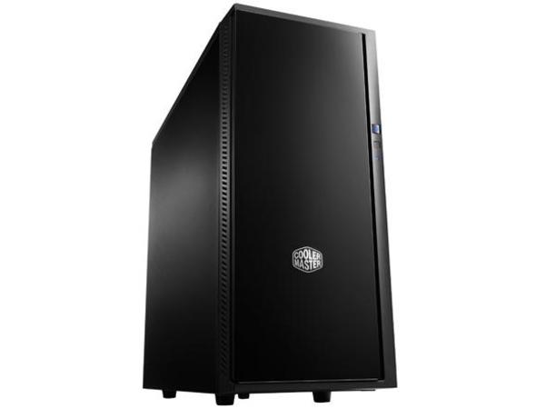 Cooler Master Silencio 452 - Midi Tower - ATX - ohne Netzteil - schwarz - USB/Audio