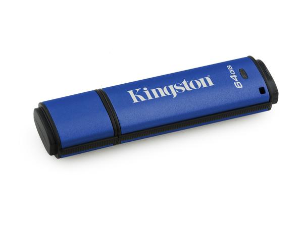 Kingston DataTraveler Vault Privacy 3.0 - USB-Flash-Laufwerk - verschlüsselt - 64 GB - USB 3.0