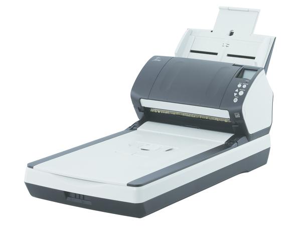 Fujitsu fi-7280 - Dokumentenscanner - Duplex - 216 x 355.6 mm - 600 dpi x 600 dpi - bis zu 80 Seiten/Min. (einfarbig) / bis zu 80 Seiten/Min. (Farbe)