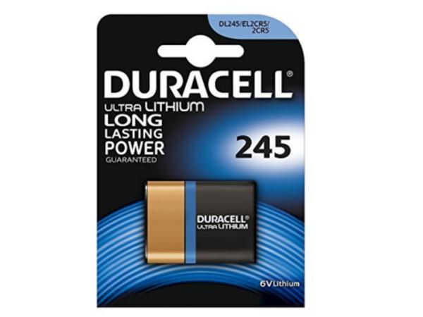 Duracell DL 245 - Batterie 2CR5 Li 1400 mAh