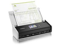 Brother ADS-1600W - Dokumentenscanner - Duplex - 216 x 863 mm - 600 dpi x 600 dpi - bis zu 18 Seiten/Min. (einfarbig) / bis zu 18 Seiten/Min. (Farbe)