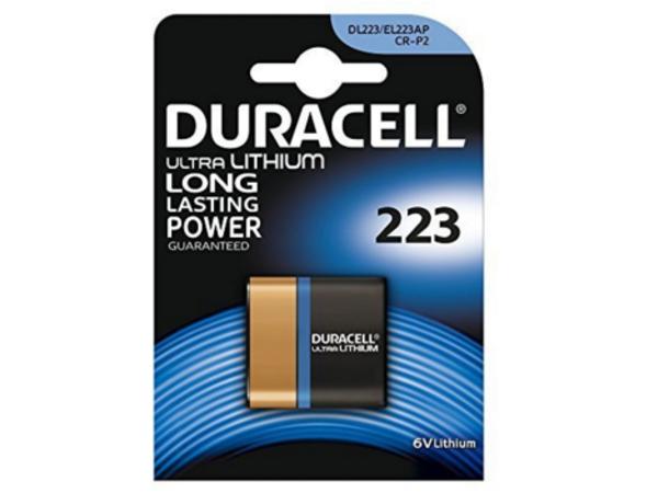 Duracell 223103, Lithium, Prismatic, 6V, Blister