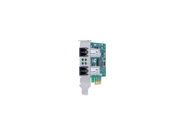 Allied Telesis AT-2911LX/2LC - Netzwerkadapter - PCIe 2.0 Low Profile - 1000Base-LX x 2