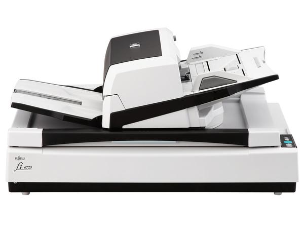 Fujitsu fi-6770 - Dokumentenscanner - Duplex - Ledger - 600 dpi x 600 dpi - bis zu 90 Seiten/Min. (einfarbig) / bis zu 90 Seiten/Min. (Farbe)