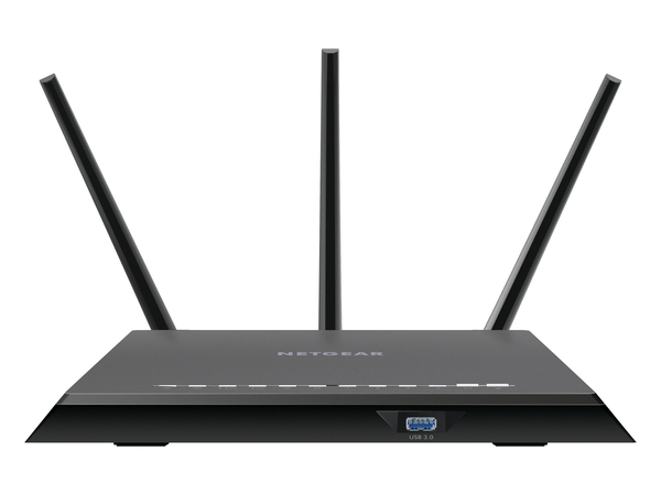 NETGEAR R7000 - Wireless Router - 4-Port-Switch - GigE - 802.11a/b/g/n/ac - Dual-Band