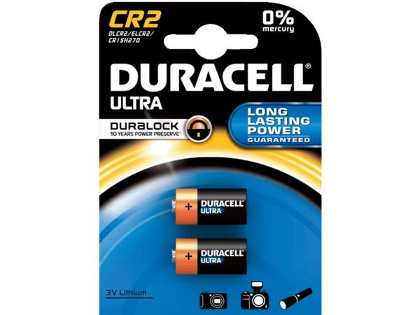 Duracell Ultra M3 CR2 - Kamerabatterie 2 x CR2 Li