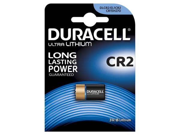 Duracell Ultra CR2 - Kamerabatterie CR2 Li 800 mAh