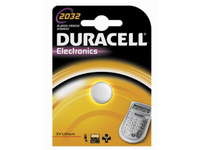 Duracell Electronics 2032 - Batterie CR2032 Li 220 mAh