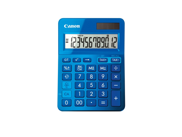 CANON LS-123K-MBL Taschenrechner Blau