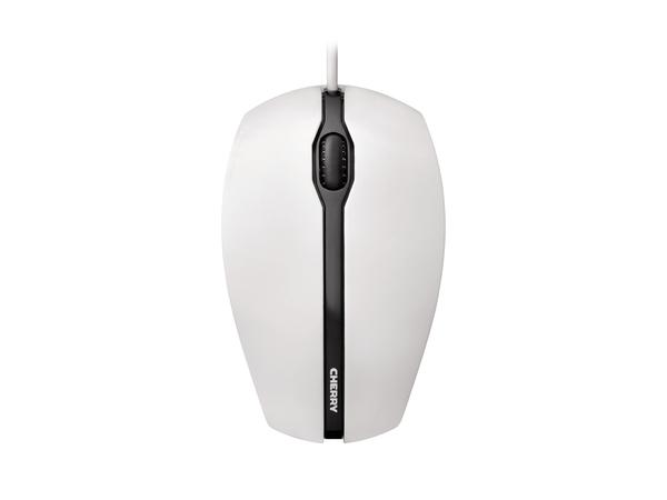 CHERRY GENTIX - Maus - optisch - 3 Tasten - verkabelt - USB