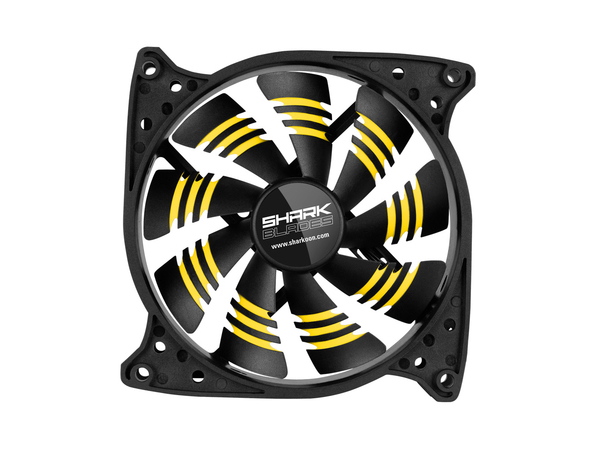 SHARK BLADES YELLOW CASEFAN