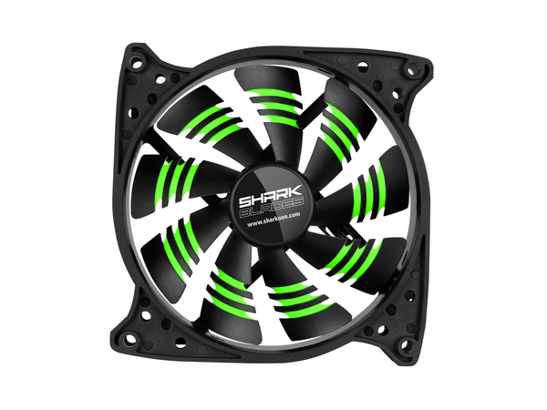 SHARK BLADES GREEN CASEFAN