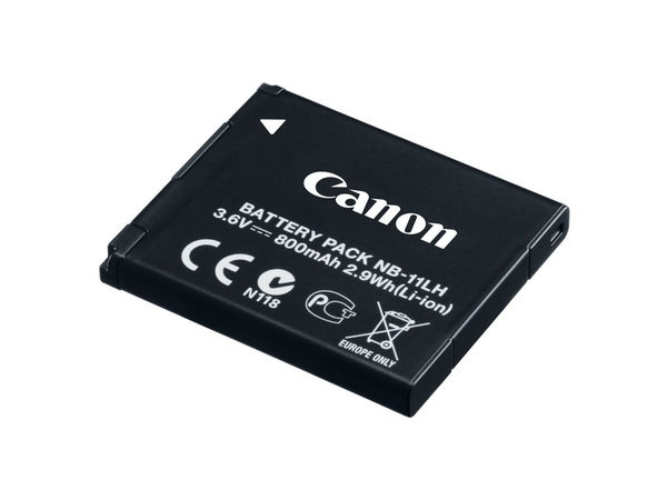 Canon NB-11LH - Kamerabatterie Li-Ion 800 mAh - für IXUS 17X, 18X, 190; IXY 180, 190, 650; PowerShot SX412, SX430; PowerShot ELPH 180, 360