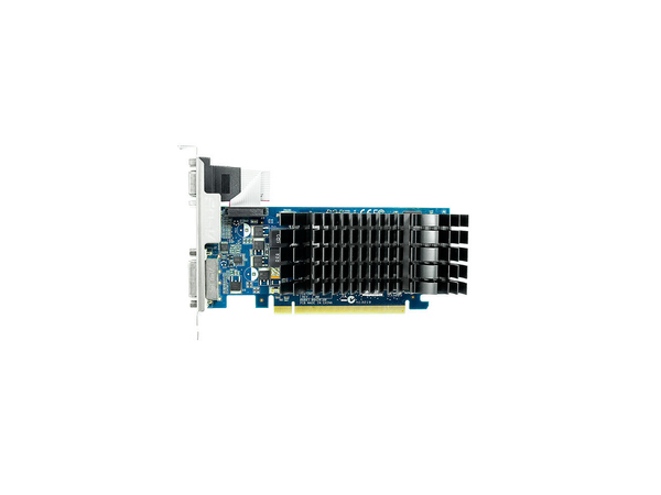 ASUS 210-SL-1GD3-BRK - Grafikkarten - GF 210 - 1 GB DDR3 - PCIe 2.0 Low Profile - DVI, D-Sub, HDMI