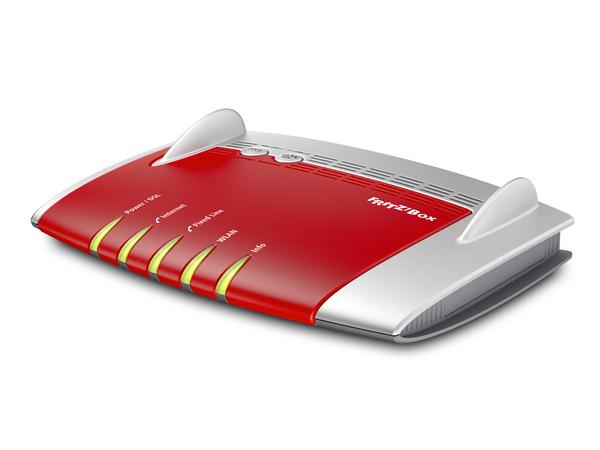 AVM FRITZ!Box 7490 - Wireless Router - DSL-Modem - 4-Port-Switch - GigE - 802.11a/b/g/n/ac