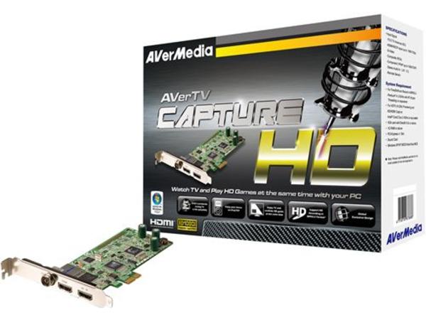 AVerMedia AVerTV CaptureHD - Digitaler/analoger TV-Empfänger/Radioempfänger/Videoaufnahmeadapter - DVB-T - HDTV - PCIe
