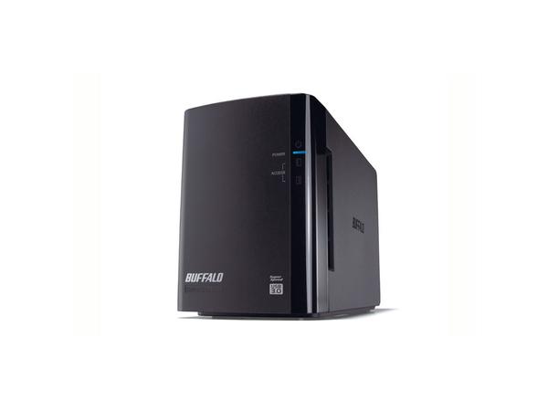BUFFALO DriveStation Duo USB 3.0 - Festplatten-Array - 8 TB - 2 Schächte (SATA-300) - HDD 4 TB x 2 - USB 3.0 (extern)