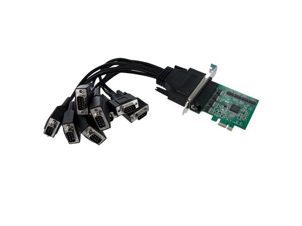 8X PCIE SERIAL ADAPTER CARD