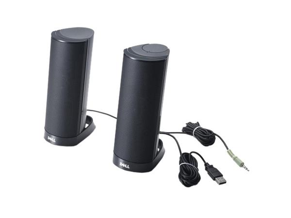 Dell AX210CR - Lautsprecher - für PC - 1.2 Watt (Gesamt) - Schwarz - für Inspiron 30XX, 34XX, 5348, 54XX, 55XX, 5759; Vostro 5459
