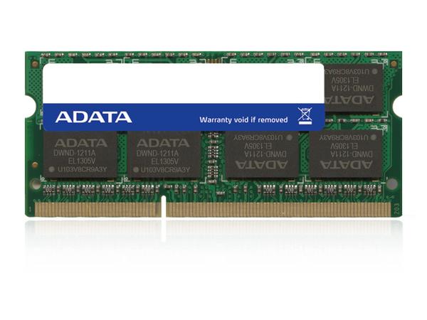 ADATA Premier Pro Series - DDR3L - 4 GB - SO DIMM 204-PIN - 1600 MHz / PC3L-12800 - CL11